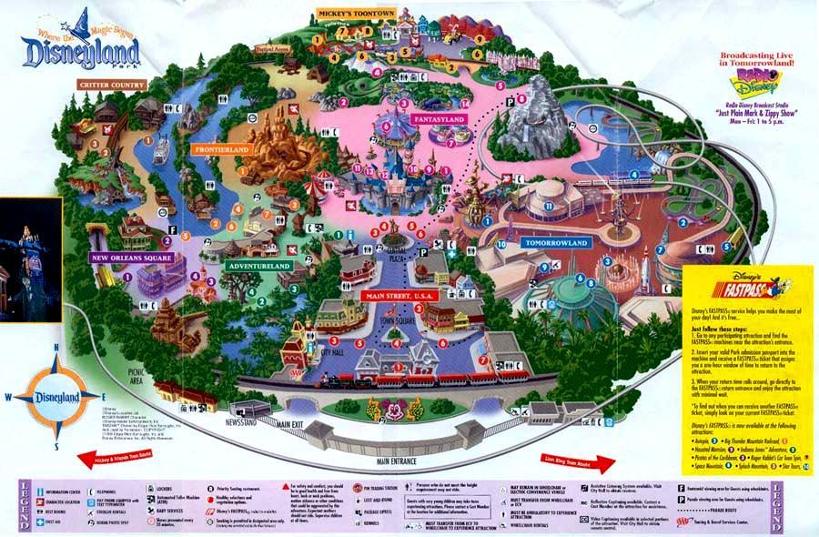 Disneyland Maps Gallery | Disney Wiki | Fandom powered by Wikia