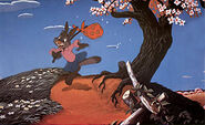 Brer rabbit walking