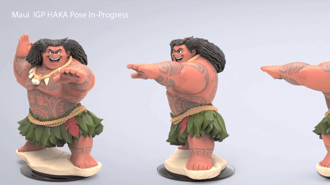 Image Cancelled Disney Infinity Figure Maui Png
