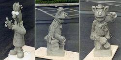 Muppet parade sculpts