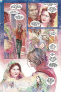 Once Upon a Time - Belle and Rumplestiltskin - Comic