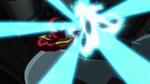 Iron-Spider blasts the Goblin USMWW