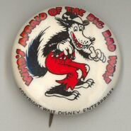 Big bad wolf pin