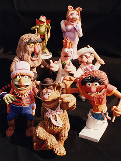 Here Come the Muppets parade models