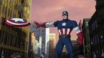 Captain America Ultimate Spider Man 1