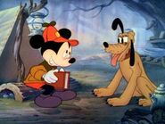Mickey and pluto in pointer