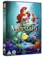 The Little Mermaid UK DVD 2014