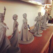 Frozen maquette