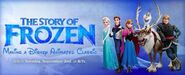 The story of frozen making a disney animated classic ad