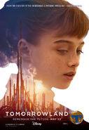 Tomorrowland Poster Athena 003