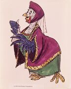 Lady Kluck Concept Art