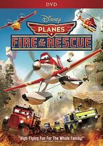 Planes Fire & Rescue DVD