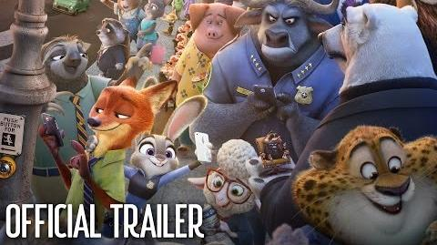 Zootopia Official US Trailer 2