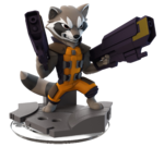 Rocket DI2.0 Transparent Figurine