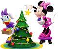 MMCH Minnie and Daisy Christmas