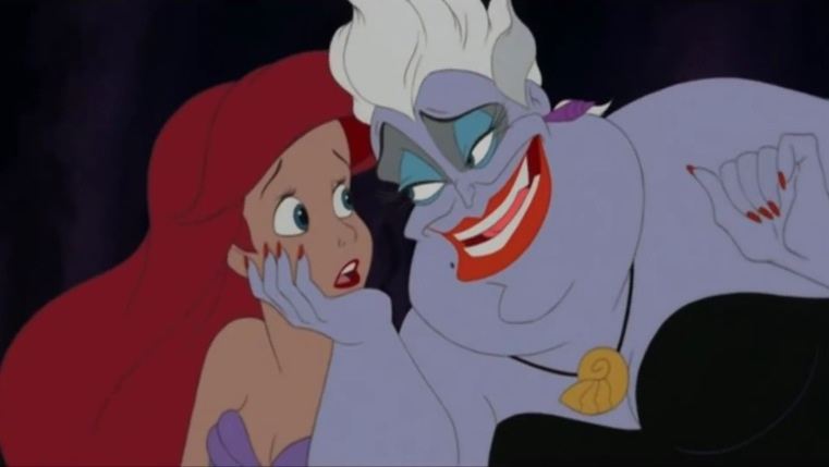 The Little Mermaid King Triton And Ariel