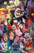 Gravity Falls Comic-Con poster
