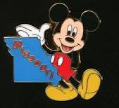 Missouri Mickey Pin