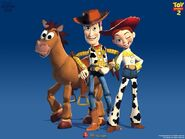 Bullseye, Woody, and Jessie