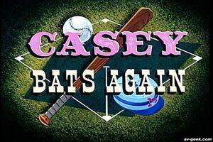 Casey bats again 1954