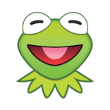 EmojiBlitzKermit-happy