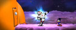 Gizmoduck in DuckTales Remastered