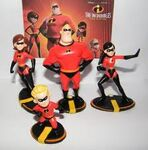 THE INCREDIBLES DOLLS
