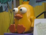 P&F ducky momo statue