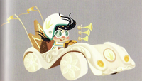Princess Vanellope - Royal Kart Concept Art