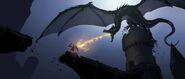 Diaval Dragon Concept 2