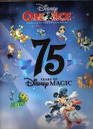 Disney on Ice 75 brochure