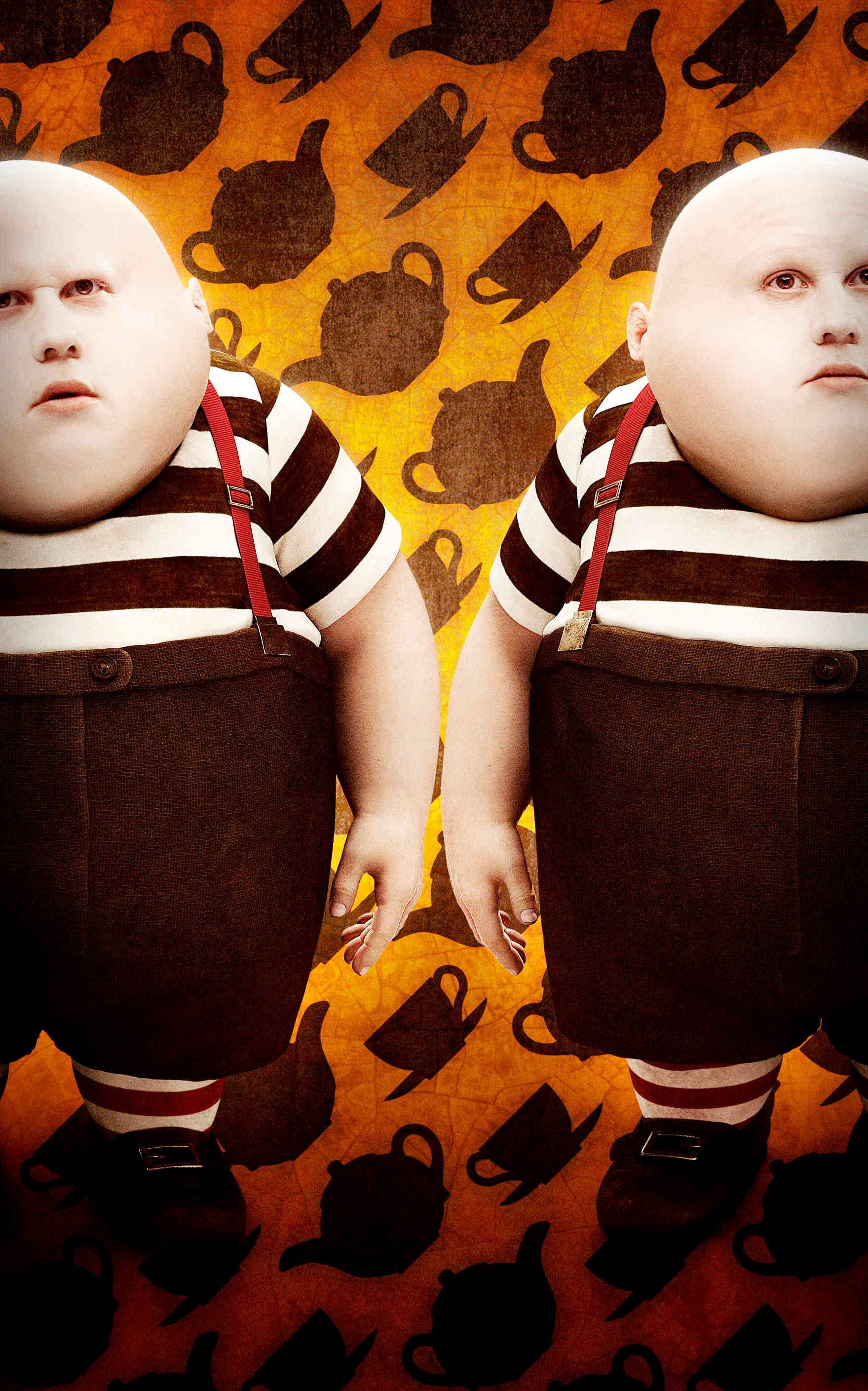 Cartoon Characters Yellow And Black Striped Shirts : The tweedle boys disney wiki fandom powered by wikia