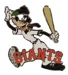 San Francisco Giants Goofy