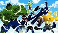 Fantastic avengers