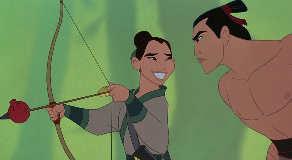 Image result for mulan i'll make a man out of you