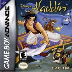 Aladdin GBA Cover