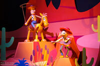 Toy Story It's a Small World