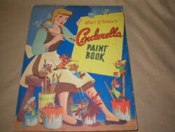 Cinderella paint book