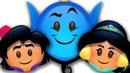 Aladdin as told by emoji