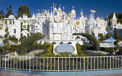 It's a Small World Building Disneyland