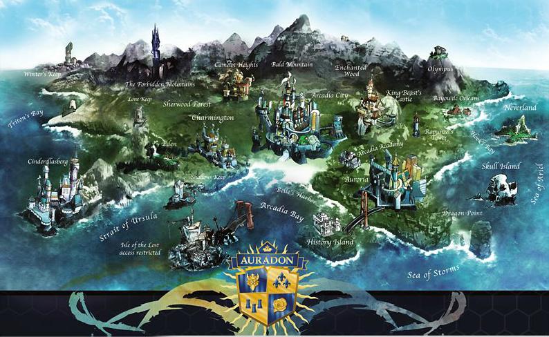 Image - Auradon Map.png | Disney Wiki | Fandom powered by