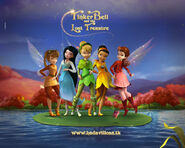 Tinker bell and the lost treasure Wallpaper yvt2