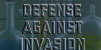 Defense Against Invasion
