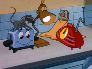 Toaster with his Friends