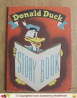 Donald duck story book