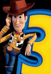 Toy Story 3 Character Poster Dateless 01