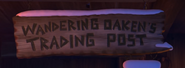 Wandering Oaken's Trade Post sign