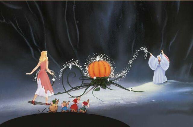 File:Cinderella's Carriage transformation.jpg