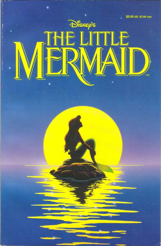 The Little Mermaid Official Comic Adaptation | Disney Wiki ...