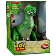 Rex Talking Action Figure - 12'' in Box